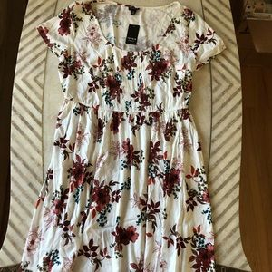 Torrid Flower Print Dress, NWT